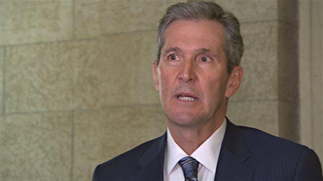 Brian Pallister, premier ministre du Manitoba.