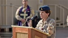 Égalité des sexes dans l'armée : la brigadière générale confiante
