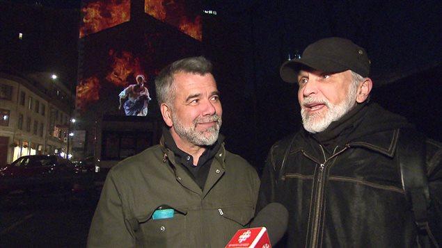 Victor Pilon et Michel Lemieux