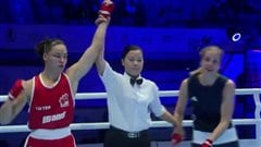 Premier gain pour Caroline Veyre aux mondiaux de boxe