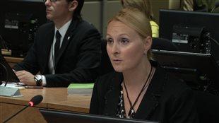 Annie Trudel, une agente de renseignements qui travaillait autrefois à l'Unité permanente anticorruption (UPAC)