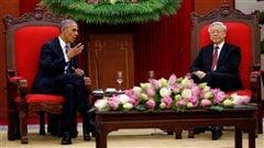Obama lève l'embargo sur la vente d'armes létales au Vietnam