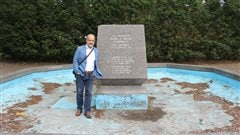 Où est passée la statue d'Iberville?