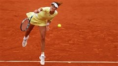 Garbine Muguruza atteint les quarts de finale à Paris