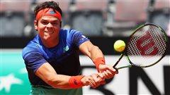 Milos Raonic dans la ronde des 16 à Roland-Garros