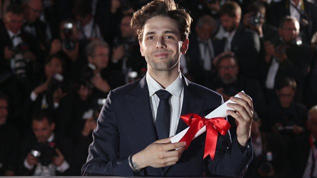 Xavier Dolan a reçu le Grand prix du jury du Festival de Cannes 2016