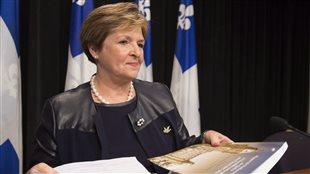 La vérificatrice générale du Québec, Guylaine Leclerc (archives)