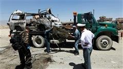 Les talibans nomment leur nouveau chef et revendiquent un attentat enAfghanistan