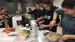 Une classe-cuisine à l'École secondaire Chavigny
