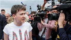 La pilote ukrainienne Savtchenko libérée