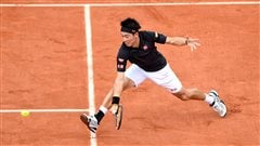 Nishikori passe au 3e tour des Internationaux de France