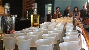 La nouvelle distillerie Wolfhead d'Amherstburg