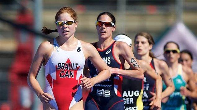 Sarah-Anne Brault à Rio pour ses premiers Jeux