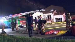Incendie suspect d'une résidence à Brossard