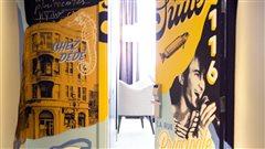 Une suite Dédé Fortin inaugurée dans un hôtel de Montréal