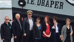 Sauver l'emblême du village d'Angliers,le bateau-remorqueur T.-E. Draper