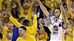 Les Warriors évitent l'élimination contre le Thunder