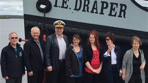 Le bateau-remorqueur T.-E.-Draper d'Angliers sera rénové cet été.
