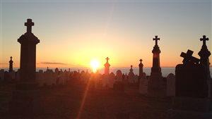 Le cimetière de Sainte-Luce.