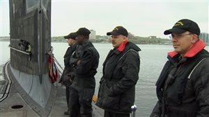 L'équipage du NCSM Windsor