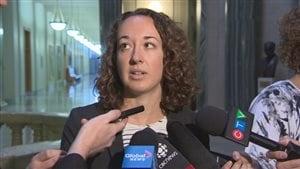 La porte-parole de l'opposition en matière de Justice, Nicole Sarauer