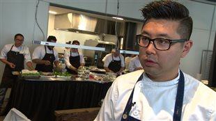 Le chef Antonio Park