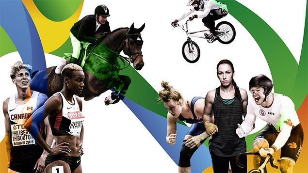 7 athlètes, 7 histoires, 1 destination : Rio