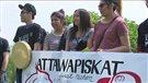 Des jeunes de Sudbury soutiennent ceux d'Attawapiskat
