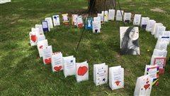 Relais pour la vie de la MRC de Mékinac en hommage à Laurence Mongrain