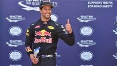 Ricciardo décroche la pole à Monaco
