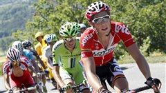 Le Belge Stig Broeckx gravement blessé à la tête au Tour de Belgique