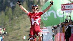 Taaramäe gagne la 20e étape, Nibali en rose.