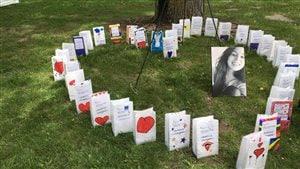Relais pour la vie à la mémoire de Laurence Mongrain emportée par la leucémie à 19 ans