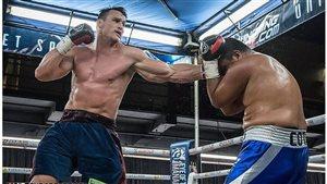 Combat de Simon Kean contre le Mexicain Daniel Cota