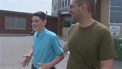 Sherbrooke:Un adolescent de 13 ans sauve un confrère de classe de la noyade
