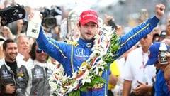 Alexander Rossi remporte les 500 milles d'Indianapolis