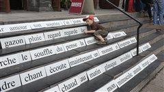 La poésie à l'honneur dans les rues de Montréal