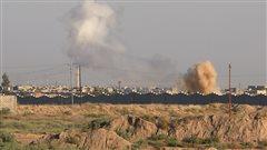 Des frappes aériennes tuent 250combattants de l'EI en Irak