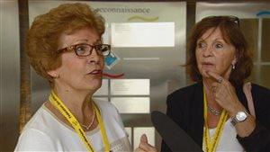 Micheline Testa, participante du congrès de la Fédération des aînés franco-albertains.