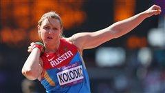 La femme de Dylan Armstrong risque de perdre sa médaille olympique pour dopage