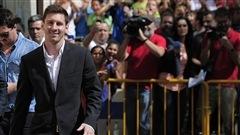 Début du procès de Lionel Messi pour fraude fiscale