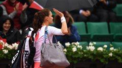 Tournoi terminé pour Radwanska et Halep à Roland-Garros