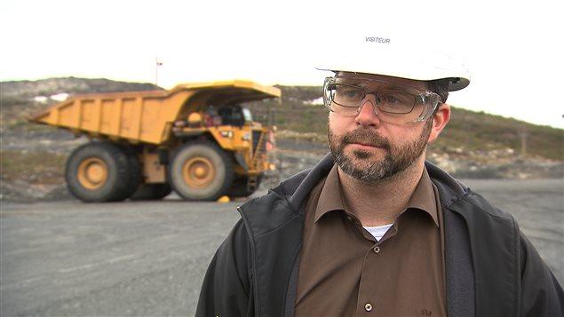 David Cataford, vice-président ingénierie pour Champion Iron Limited