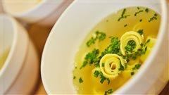 La Pfannkuchensuppe (soupe aux pancakes)