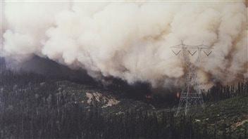 Il y a 25 ans, un immense feu de forêt menaçait Baie-Comeau