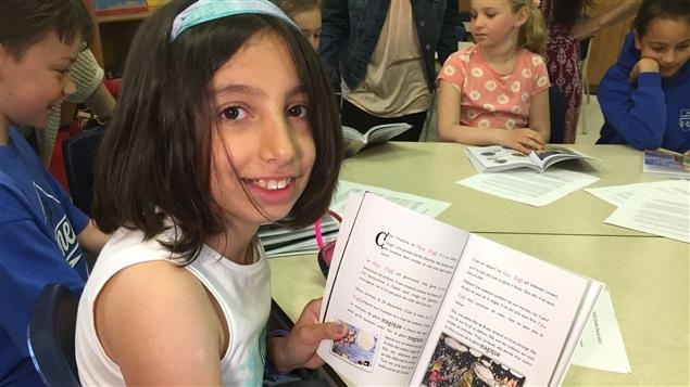 Anisa Hashemi a fait plusieurs dessins dans le livre.