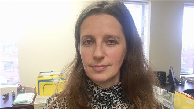 Marta Rzepkowska, dont le bébé de 10 mois a été assassiné en juillet 2015 par son conjoint.