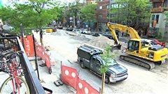 Les travaux de la rue Saint-Denis terminés avec un mois d'avance