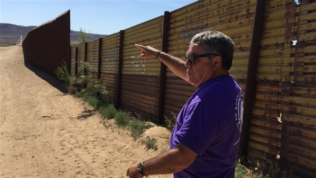 Le fondateur des Anges de la frontière, Enrique Morones