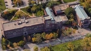 Le campus sur l'avenue College de l'Université de Regina.
